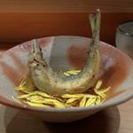 炭Kappo hirac - 鮎の揚げ浸し
