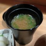 炭Kappo hirac - 貝汁と香物