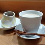 炭Kappo hirac - ほうじ茶プリン