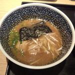 麺屋一燈 - 濃厚魚介つけ麺