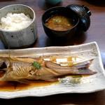 潮蔵 - おすすめコースの煮魚