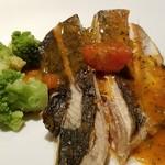 晶 - お魚定食 サワラのソテー
