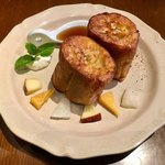 フレンチ カフェ アオイオト - 料理写真:プレーンの フレンチトースト ♪   単品は 680円+税