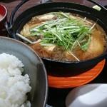 肉屋食堂 たけうち - 特上すきやき定食 1580円