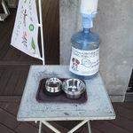 エフカイビーチ - ペット用の飲料水も用意されています