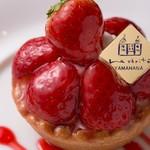 ラ・ヴェリテ - 料理写真:イチゴのタルト