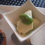 セルフィーユ - 豆乳とそら豆のムース