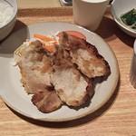 岡山淳風会タニタ食堂 - 豚ロースのしょうが焼き