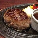 ハンバーグ&ステーキ 芝浦 - 芝浦 黒毛和牛 ハンバーグ&ステーキ(ハンバーグ)