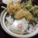 坂のうえ - 鍋焼きうどん¥1080