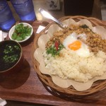 米どころ - 「ガパオライス」(鶏肉のバジル炒めライス・スープ付・880円)