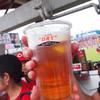 マツダズームズーム スタジアム広島 - ドリンク写真:試合前の一杯