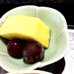 京寿し - フルーツ パイナップルと葡萄