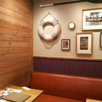 梅田 阪急三番街 リバーカフェ - 2017.09