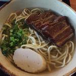 しむじょう - 三枚肉そば(中)(セットメニュー)