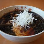 Membuhachimakiya - 正油ラーメン(キクラゲ増し)