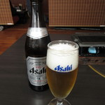 岡喜本店 - 瓶ビール(中瓶) 700円(税込) (2017.11)