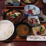 76614318 - 猪小鍋定食B