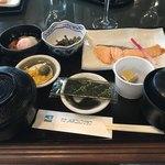 ボナリ高原ゴルフクラブ - 料理写真:用意してれていた朝ごはん