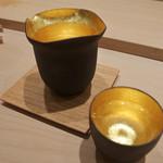寿司 竹本 - 目を引く酒器