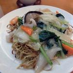 竹爐山房 - 海鮮韃靼炒麺