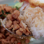タイストリートフード - 鶏挽肉のホーリーバジル炒めごはん(1080円)