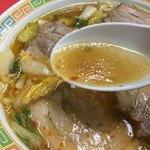 名物王寺ラーメン - 鶏ガラ醤油の奈良スタミナ系スープ