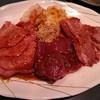 焼肉の白川 - 料理写真:盛り合わせ タン、ホルモンなど