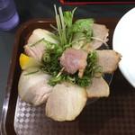 麺匠 さくら咲く - 肉のさくら咲く