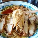 いろは食堂 - いろは食堂 本店@岩出山 らあめんの麺