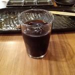 まる - サービスのアイスコーヒー