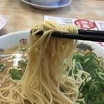 来来亭 - 2017年11月18日  麺(カタめん)