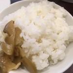 三幸苑  - たんめんセット850円に無料で付くライス