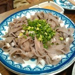 煮こみ - センマイ刺