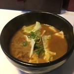麺屋 一真道 - つけスープ