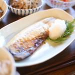おうちごはん 野の - お魚も美味しいです。