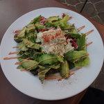 カフェ ラ・ボエム - アボカドとカニのサラダ