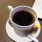 シェフズトライテーブル - グリルランチ(ホットコーヒー)