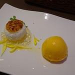 シェフズトライテーブル - グリルランチ(デザート)