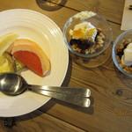 カフェ&レストラン グリーンテーブル - デザート系
