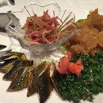 新世界菜館 - 前菜三種盛り(三種はチョイス可)