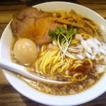 Gochoumeniboshi - 煮干しそば味玉入
