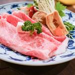 近江肉せんなり亭 伽羅 - すき焼き具材