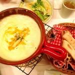 チーズカフェ 2 - チーズフォンデュとスープ