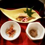 近江肉せんなり亭 伽羅 - 前菜