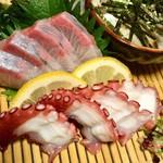 串と水炊博多松すけ - お刺身付きランチ