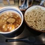 76637951 - 【2017.11.18(土)】つけ麺(並盛・250g・かつお)780円
