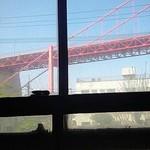 アサカフェ - おぉ!若戸大橋!