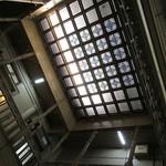 アサカフェ - わぉ!天井にステンドグラス!(@.@)