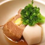 鳥茶屋 - 豚の角煮
